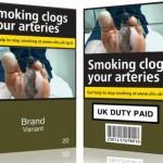 Normele privind ambalajele simple pentru tigari vor fi introduse vineri