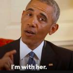 Obama o susține în mod oficial pe Hillary Clinton la presedintie