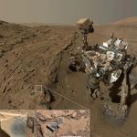 """""""Curiosity"""" a găsit oxid de mangan pe Marte"""