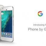 Detaliile pentru Google Pixel au fost publicate