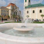 Piaţa Unirii din Oradea, ţinută sub supraveghere de politişti