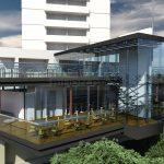In ton cu alte doua restaurante din oraş, Crinul Alb îşi va extinde şi el terasa peste criş