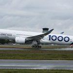 Primul zbor al Airbus 350-1000