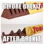 Marketing inteligent sau influenta BREXIT a facut ca TOBLERONE sa-si modifice forma celebra in toata lumea