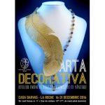 """Expozitie de bijuterii """"Podoabe Art Nouveau"""", la Casa Darvas- La Roche"""