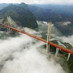 Cel mai înalt pod din lume, inaugurat în China