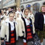 In jur de 4000 de copii au colindat Primaria Oradea