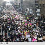"""""""Marșul femeilor"""": Milioane de oameni au manifestat contra lui Trump în multe metropole americane și în întreaga lume"""