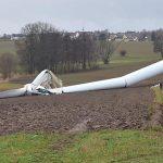 Experții cercetează accidentele centralelor eoliene