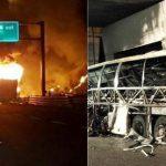 Catastrofa pentru unguri: un autocar a luat foc pe o autostrada din Italia: 16 persoane, in majoritate adolescenti maghiari, au murit