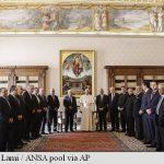 O lovitura data Israelului-Papa Francisc l-a primit pe Mahmoud Abbas, care a inaugurat ambasada palestiniană la Vatican