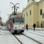 . Programul tramvaielor in zilele libere de 23-24 ianurie in Oradea