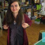 Tânăr de România: Prelate de camion, transformate în genți