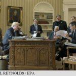 Ziua diplomației prin telefon pentru Trump: convorbiri cu Putin, Merkel, Hollande si premierul japonez