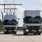 Camioane electrice în teste