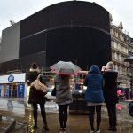 Pentru prima oară după mai bine de 70 de ani, luminile din Piccadilly Circus au fost stinse