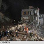 China: Douăsprezece potențiale victime în urma unei alunecări de teren