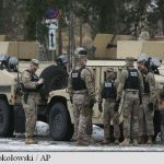 Primul grup de soldați americani a sosit in Polonia, în cadrul operațiunii NATO de consolidare a flancului estic