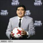 Diego Maradona, la Napoli în calitate de actor de teatru