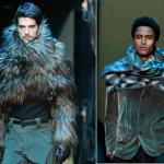 Fularele cu mâneci Armani încheie triumfal Săptămâna Modei masculine de la Milano