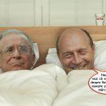 Zambetul diminetii! Basescu in masina