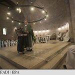 O faimoasă biserică din secolul al IV-lea din Israel e redeschisă la aproape doi ani după ce a fost incendiată