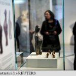 Statuie enigmatică veche de circa 7.000 de ani, expusă la Muzeul Național de Arheologie
