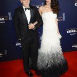 George Clooney, omagiu emoţionant adus soţiei sale,la gala César.Discurs incisiv la adresa lui Trump