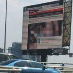 Mexic: Un ecran publicitar a difuzat imagini porno după ce a fost ținta unor hackeri