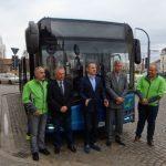 Oradenii pot testa in aceste zile autobuzul anului 2017, Solaris Urbino 12