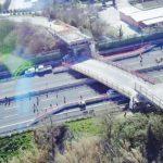 S-a întâmplat în Italia: Doi români au fost răniți după ce o pasarelă s-a prăbușit peste o autostradă