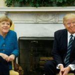 Întâlnire Trump-Merkel: președintele american critică țările membre NATO, dar apreciază Germania