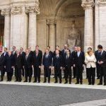 """Liderii UE au adoptat Declaraţia de la Roma, afirmând că organizaţia reprezintă """"viitorul comun"""""""