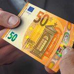 BCE a introdus in circulatie o noua bancnota de 50 de euro