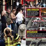 O țigancă din Romania, cersetoare de 83 de ani, pe prima pagină a ziarelor suedeze, după atacul terorist de vineri