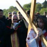 Spectacolul Patimile lui Isus prezentat in cadrul Targului de Pasti