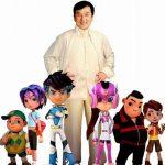 Actorul Jackie Chan a devenit personaj într-un serial de animație în 3-D