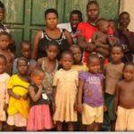 O femeie din Uganda are 38 de copii la vârsta de 37 de ani