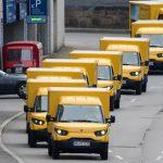 Comercianții de pește cumpără vehicule electrice de la Deutsche Post
