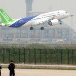 Primul avion chinez de pasageri