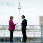 Tatăl și mama Uniunii europene, s-au întâlnit la Berlin pe tema reconstruirii istorice și lupta contra populismului