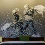 Hotelul lui Banksy din Bethleem, locul în care conflictul israeliano-palestinian arată ca o bătaie cu perne