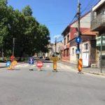 Circulația rutieră pe strada Căprioarei va fi inchisa pana la final de luna