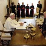 Papa Francisc și Donald Trump s-au întâlnit la Vatican într-o reuniune privată care a durat 27 de minute