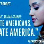 Atentatul de la Manchester: Ariana Grande, victimă a trolilor alt-right, după întoarcerea în SUA