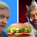 Monarhia belgiană, deranjată de o campanie publicitară a Burger King