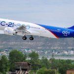Primul zbor pentru avionul rusesc de distanțe medii