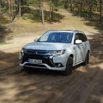 Facelift pentru Mitsubishi full electric Outlander