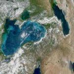 NASA –  Apele Mării Negre în tonuri de bijuterie