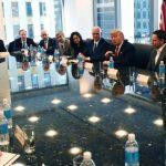 Preşedintele Donald Trump s-a întâlnit, luni, cu directorii a 18 companii de tehnologie din Statele Unite